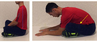 seated leg cross for piriformis syndrome