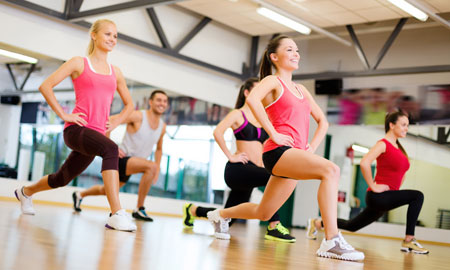 lunges to relieve back pain