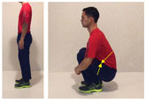 deep squat rest